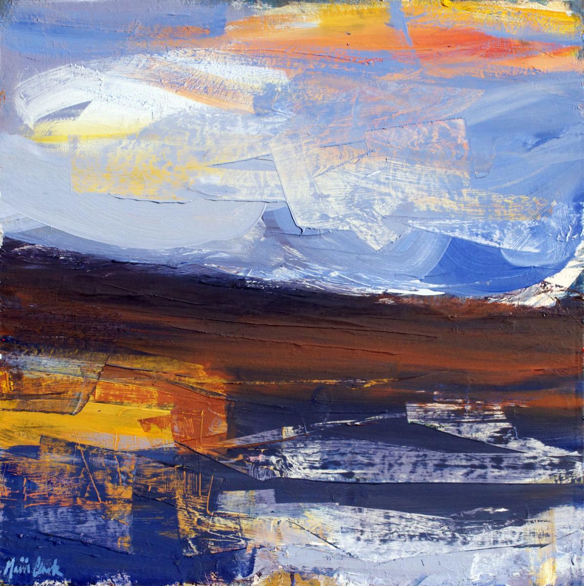 'Sunlit Sky, North West Sutherland' by Mairi Clark