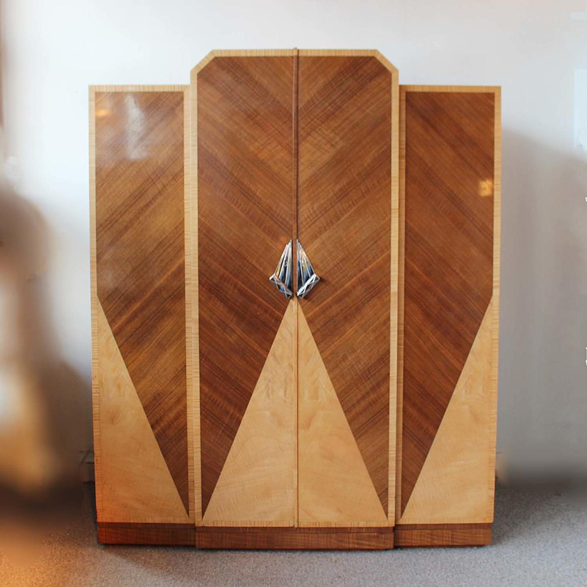 Art Deco Cocktail Cabinet By Maurice Adams