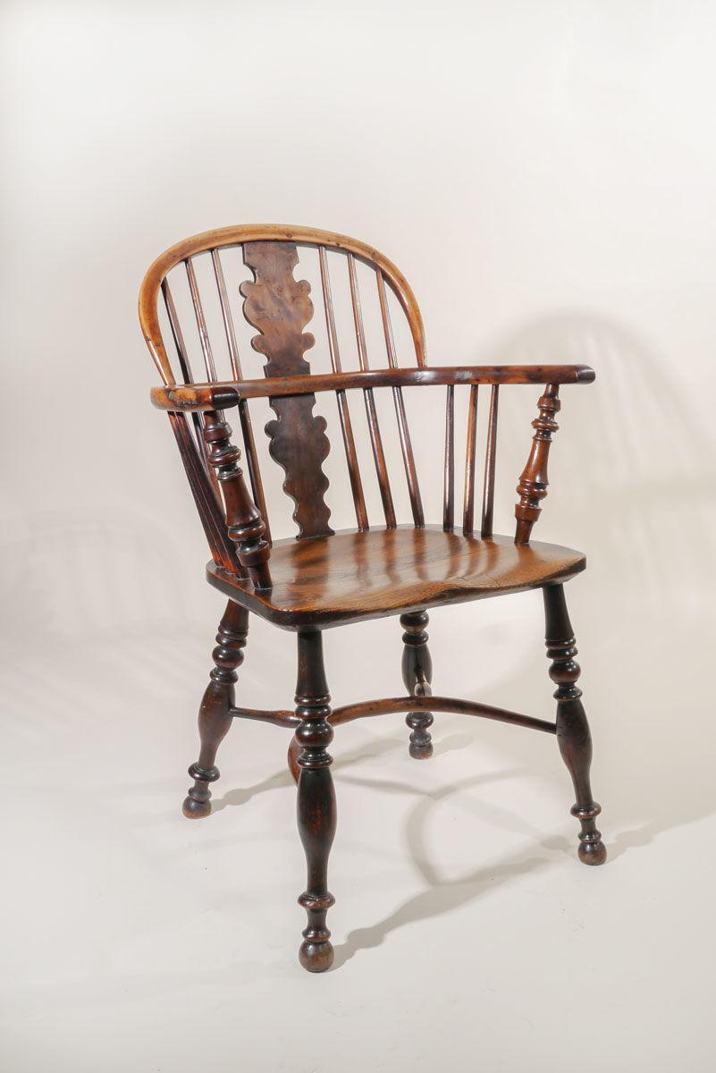 A 19th Century Low Back Windsor Armchair