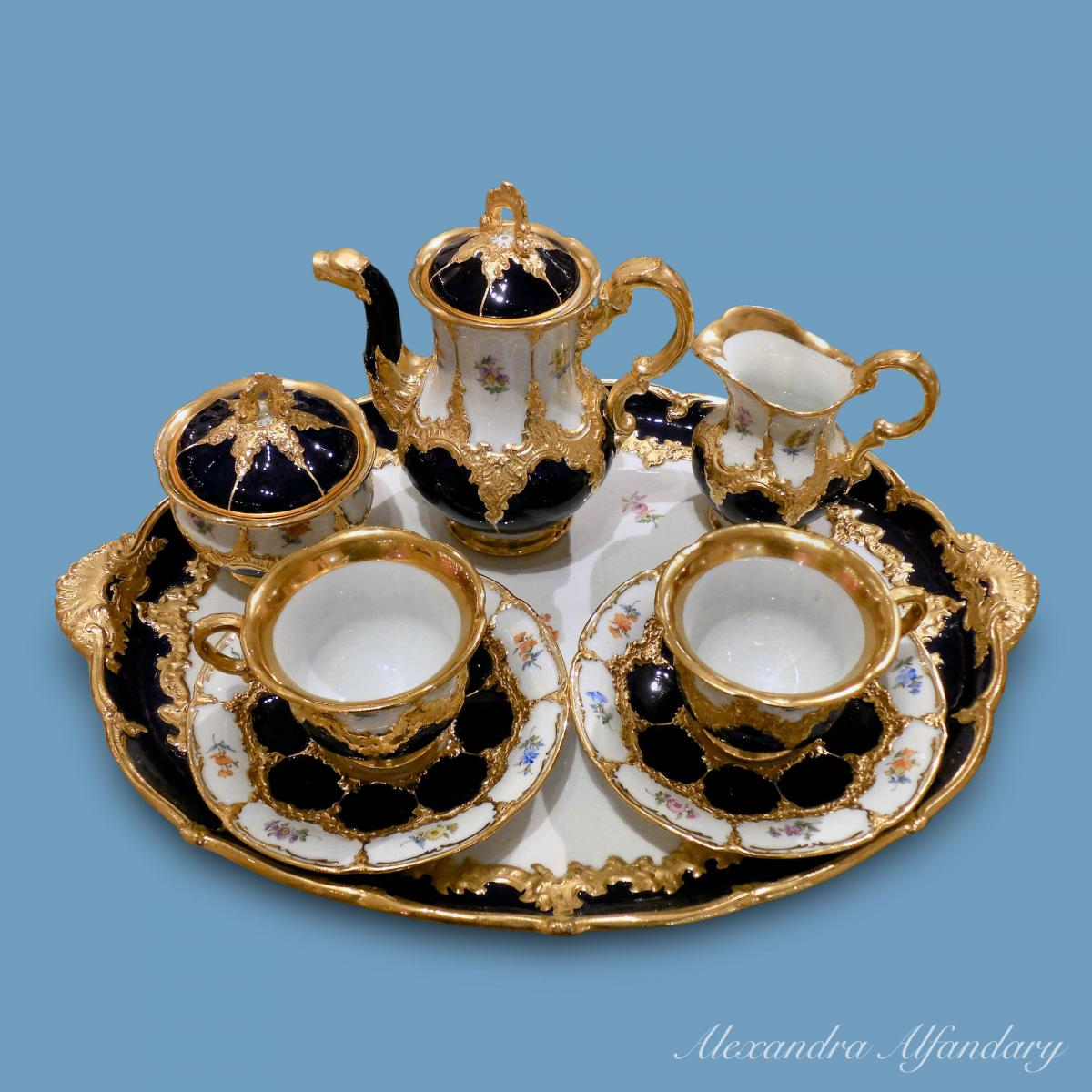 Meissen Porcelain Cabaret Set