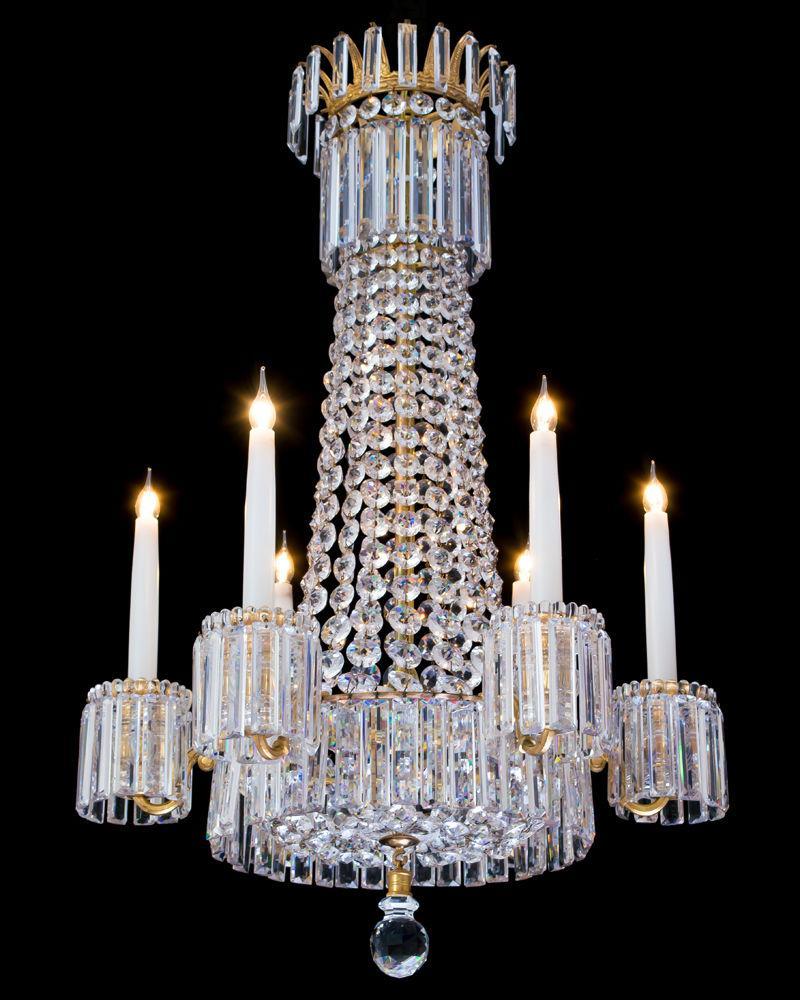 A fine regency chandelier by john blades english circa 1825 bada a fine regency chandelier by john blades english circa 1825 mozeypictures Choice Image
