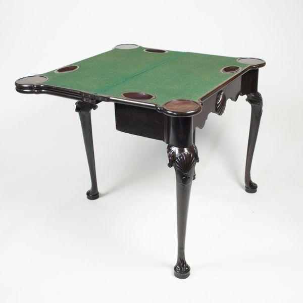 18th Century Irish Triple Top Card Table