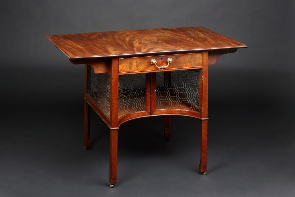 Chippendale Mahogany Breakfast/Supper Table