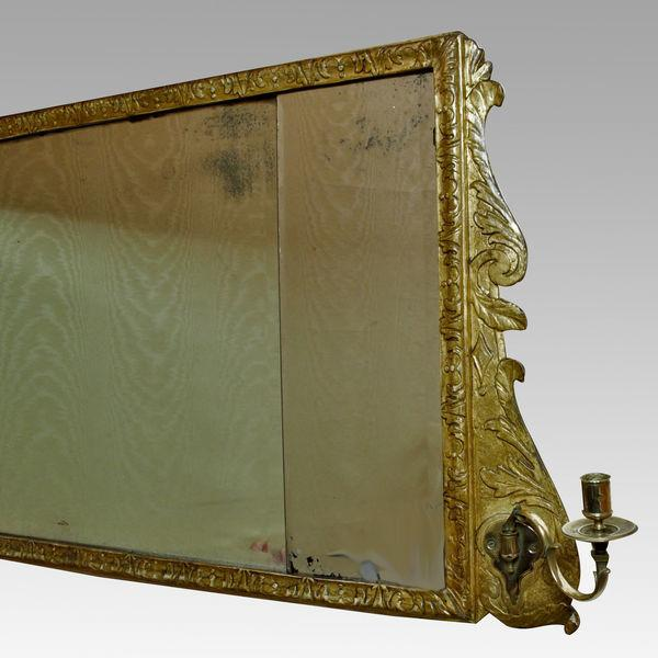 George II Overmantel (Overmantle) Mirror