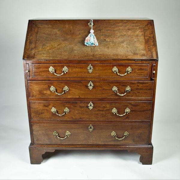 Georgian mahogany bureau
