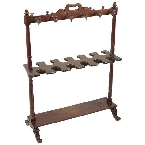 Mid-19th Century Mahogany Boot Rack