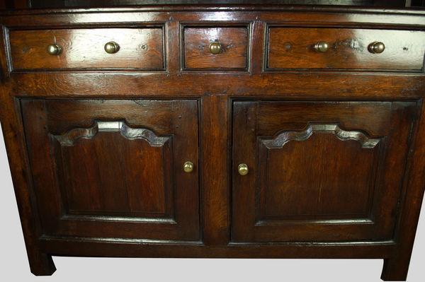Oak Welsh Dresser of small size