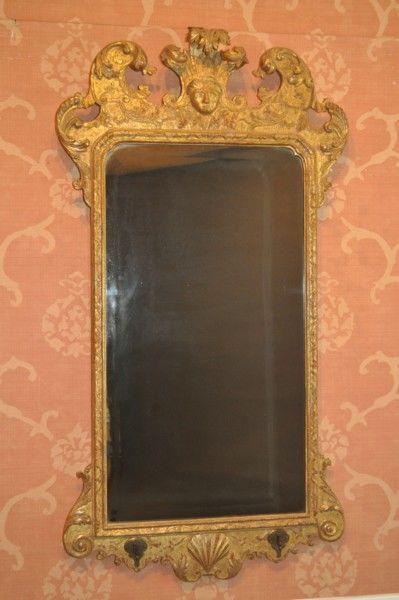 Anne/George I gilded pier mirror