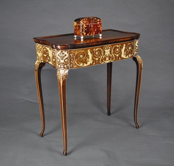 Collison & Lock Side Table