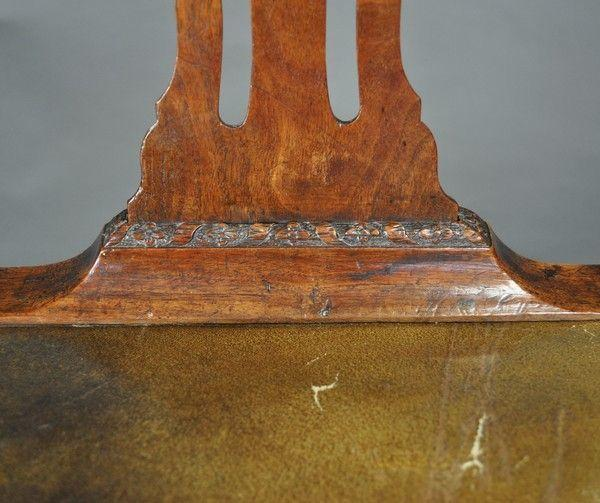 Exceptional set of six Chippendale Period Mahogany Dining Chairs