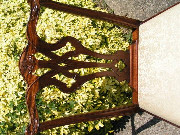 Fine set of twelve 20th century Chippendale style Chairs