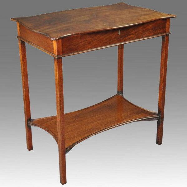George III period Mahogany Dressing Table