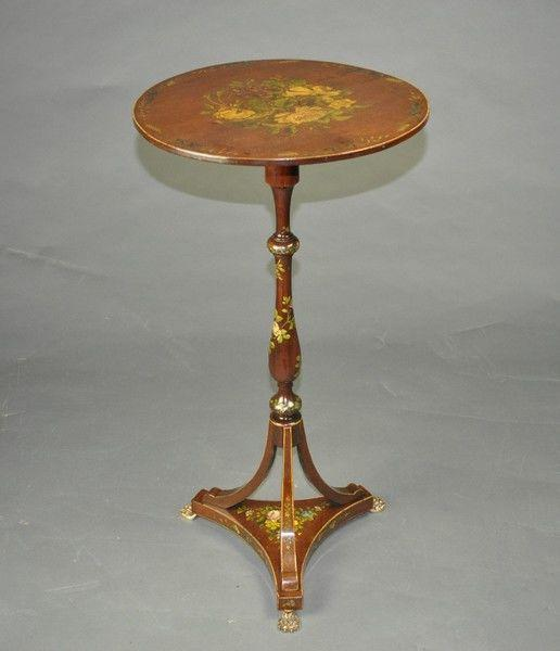 Painted lamp Table