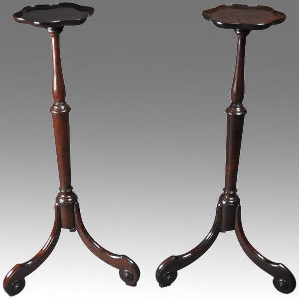 Pair of George II torchères