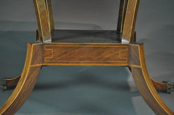 Regency Padouk Wood Sofa Table
