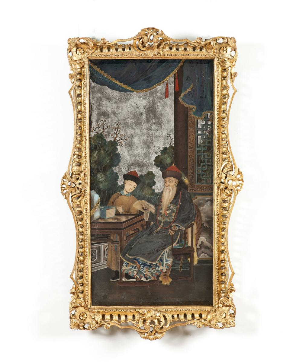 An Early Nineteenth Century Chinese Mirror Picture
