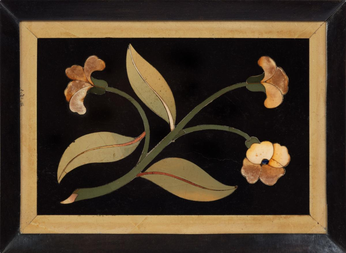 6431 Collection of 17th Century Framed Pietra Dura Panels by the Opificio delle Pietre Dure, Florence