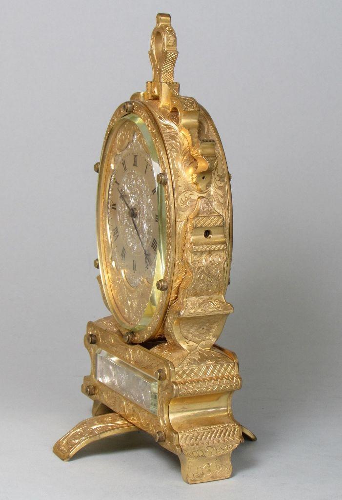 Thomas Cole strut clock side