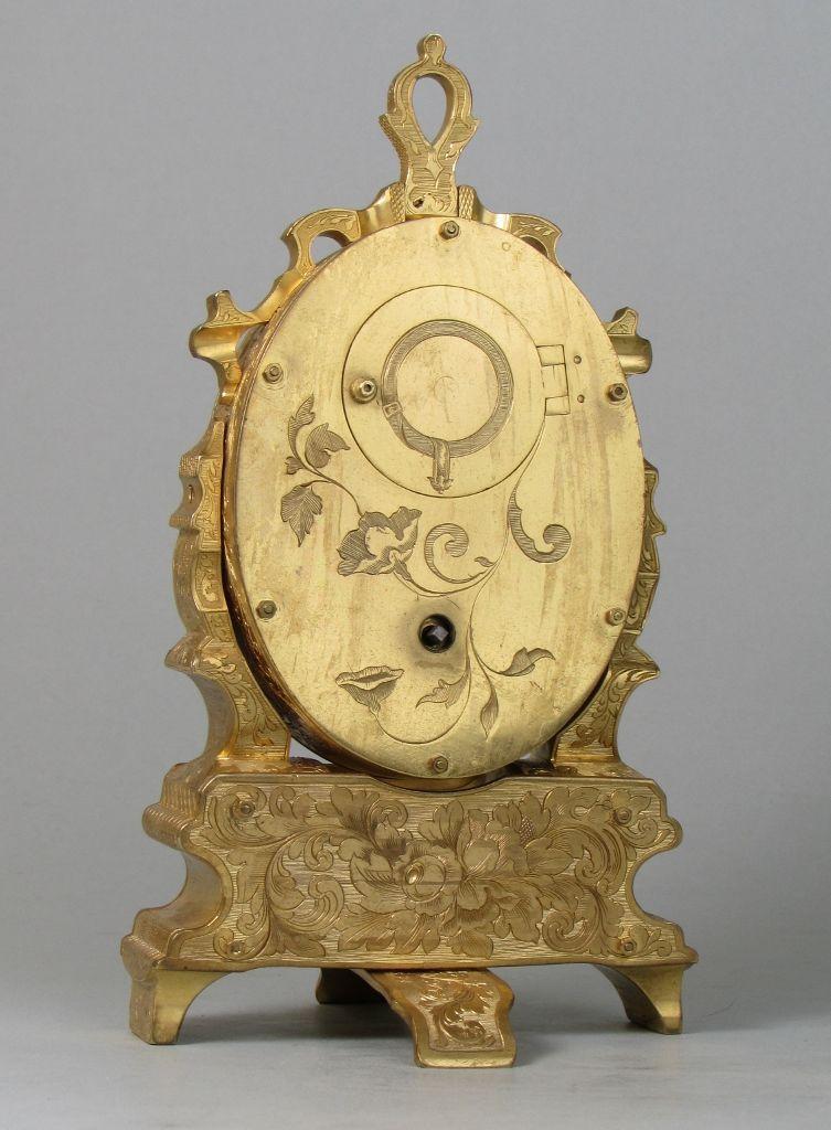 Thomas Cole strut clock back
