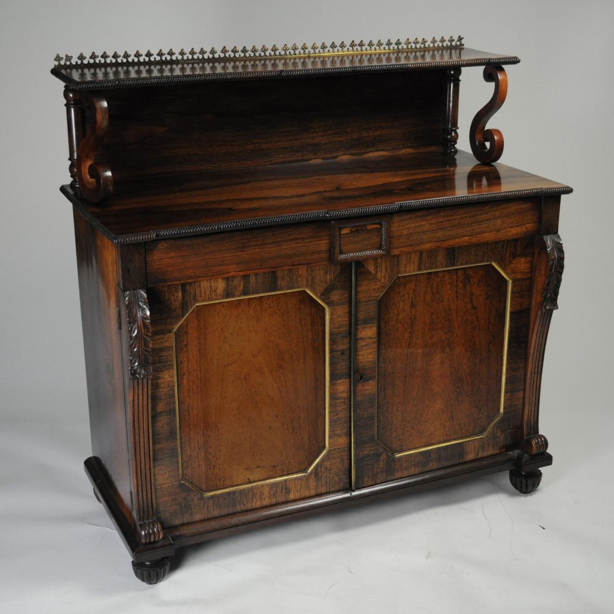 Regency Rosewood Chiffonier