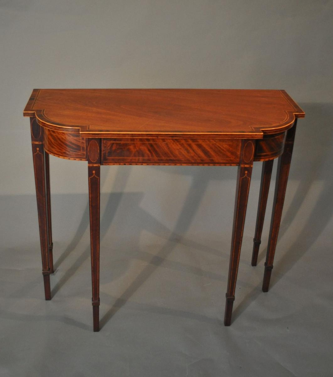 Late 18th Century Mahogany Side/Console Table