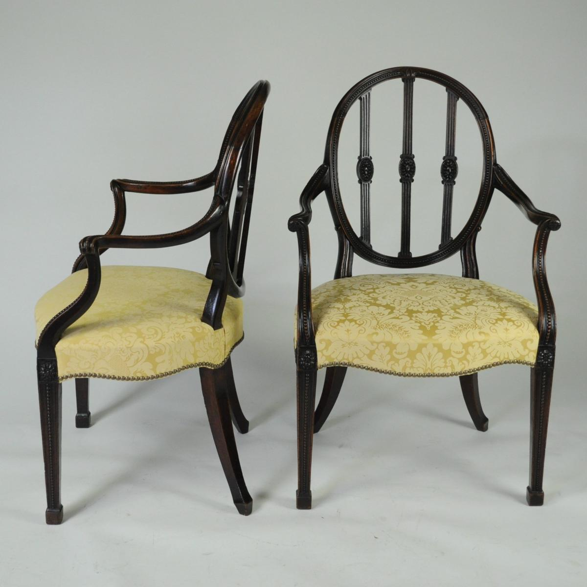Pair of Adam Arm Chairs