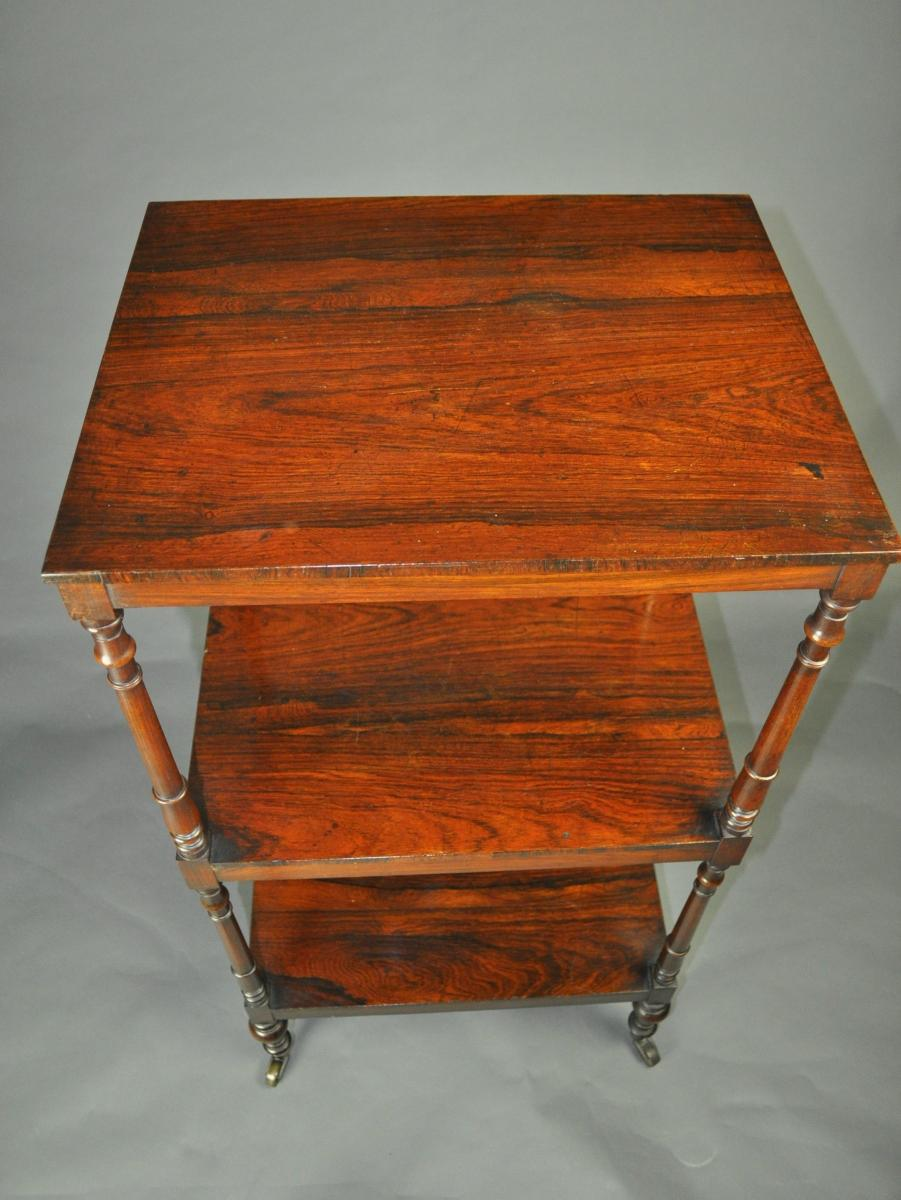 Regency rosewood Whatnot