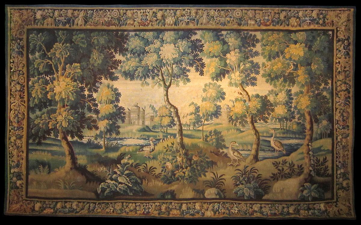 A 17th Century Verdure Tapestry
