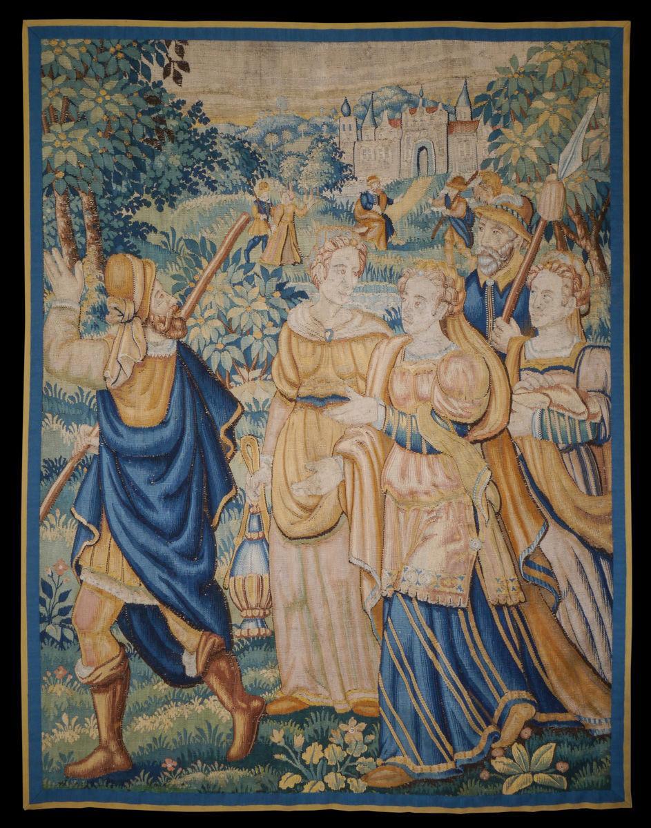 Late 16th Century Oudenaarde Tapestry