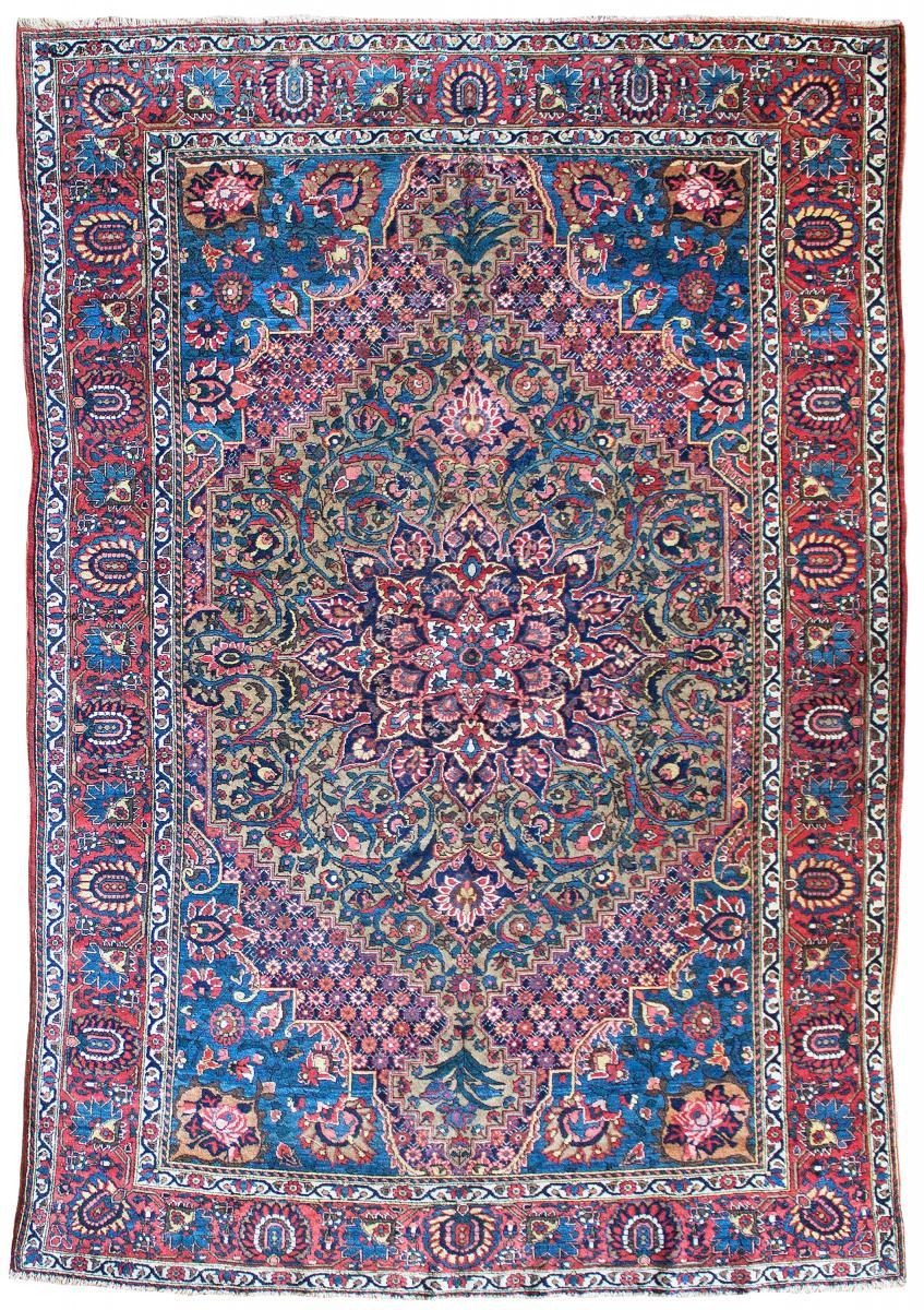antique Baktiari carpet