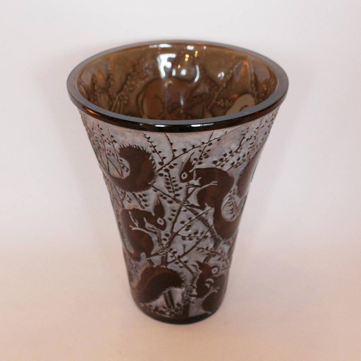 Rene Lalique Senart Vase