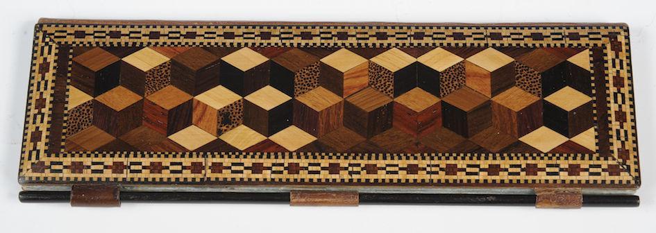 Tunbridge Ware Sewing Case
