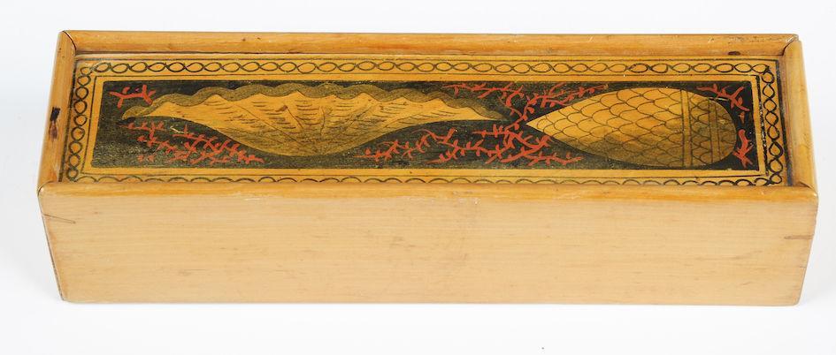 Tunbridge Ware Pencil Box