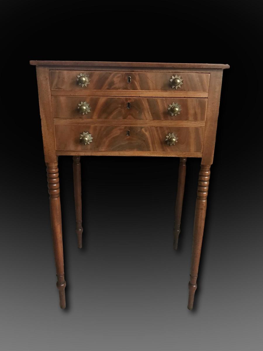 George III mahogany worktable