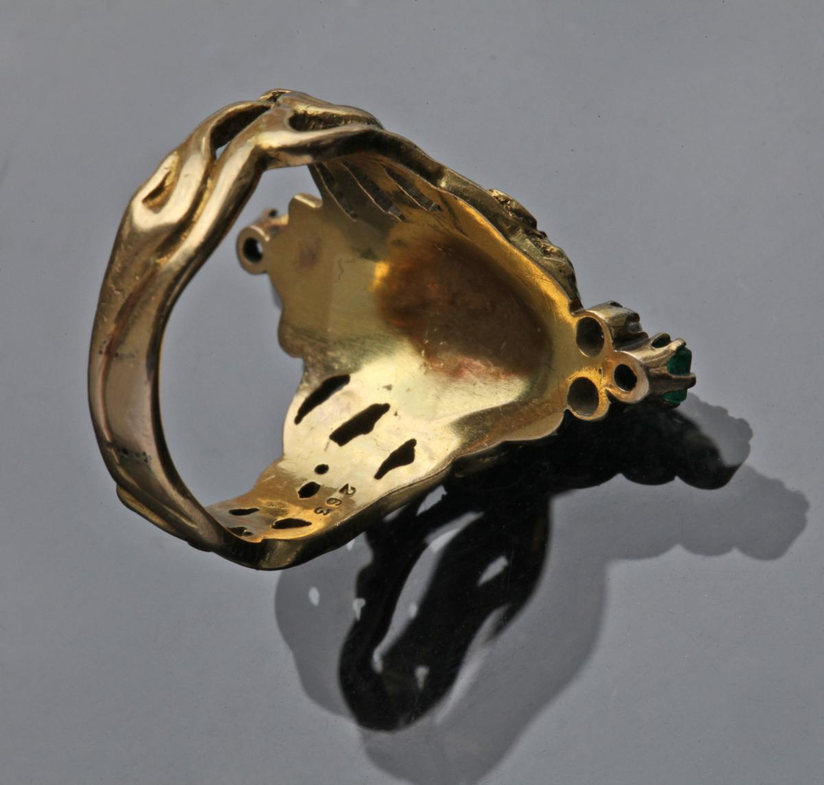 ANDRÉ RAMBOUR (worked from c.1900) Art Nouveau Ring