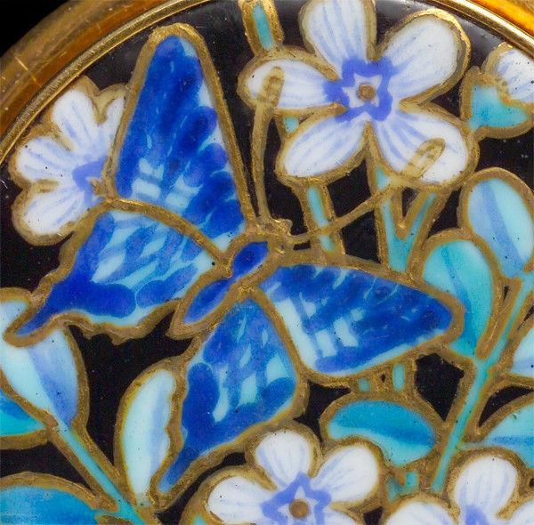 JAPONISME Butterfly Brooch