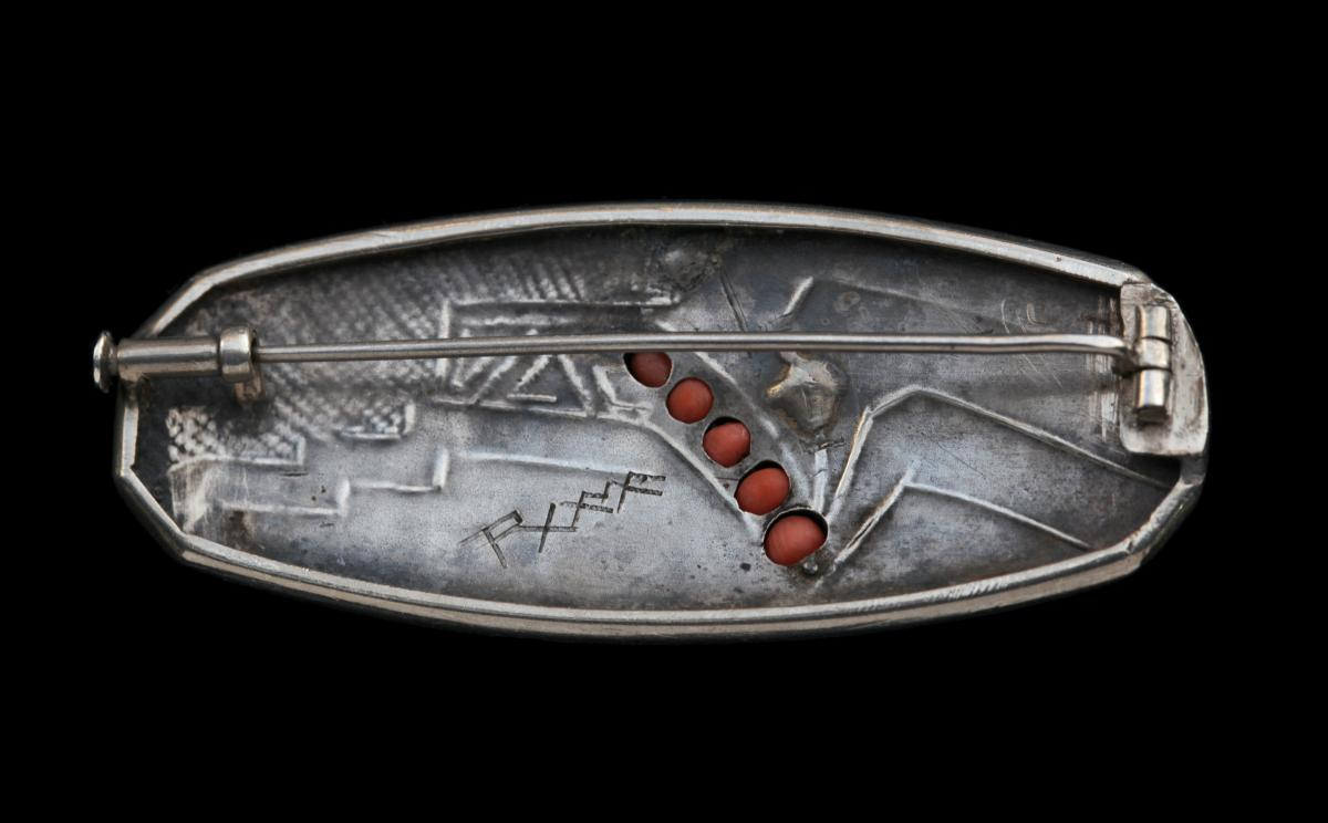 RAMA (worked from c.1920) ART DECO Brooch