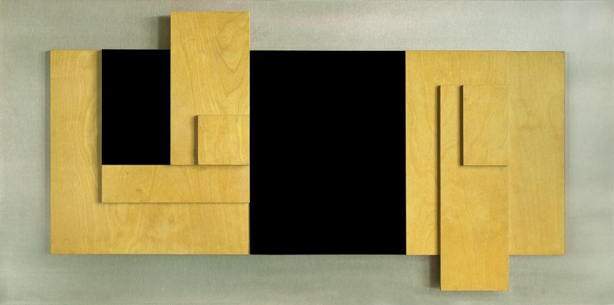 JOHN ERNEST (1922-1994) Relief Construction