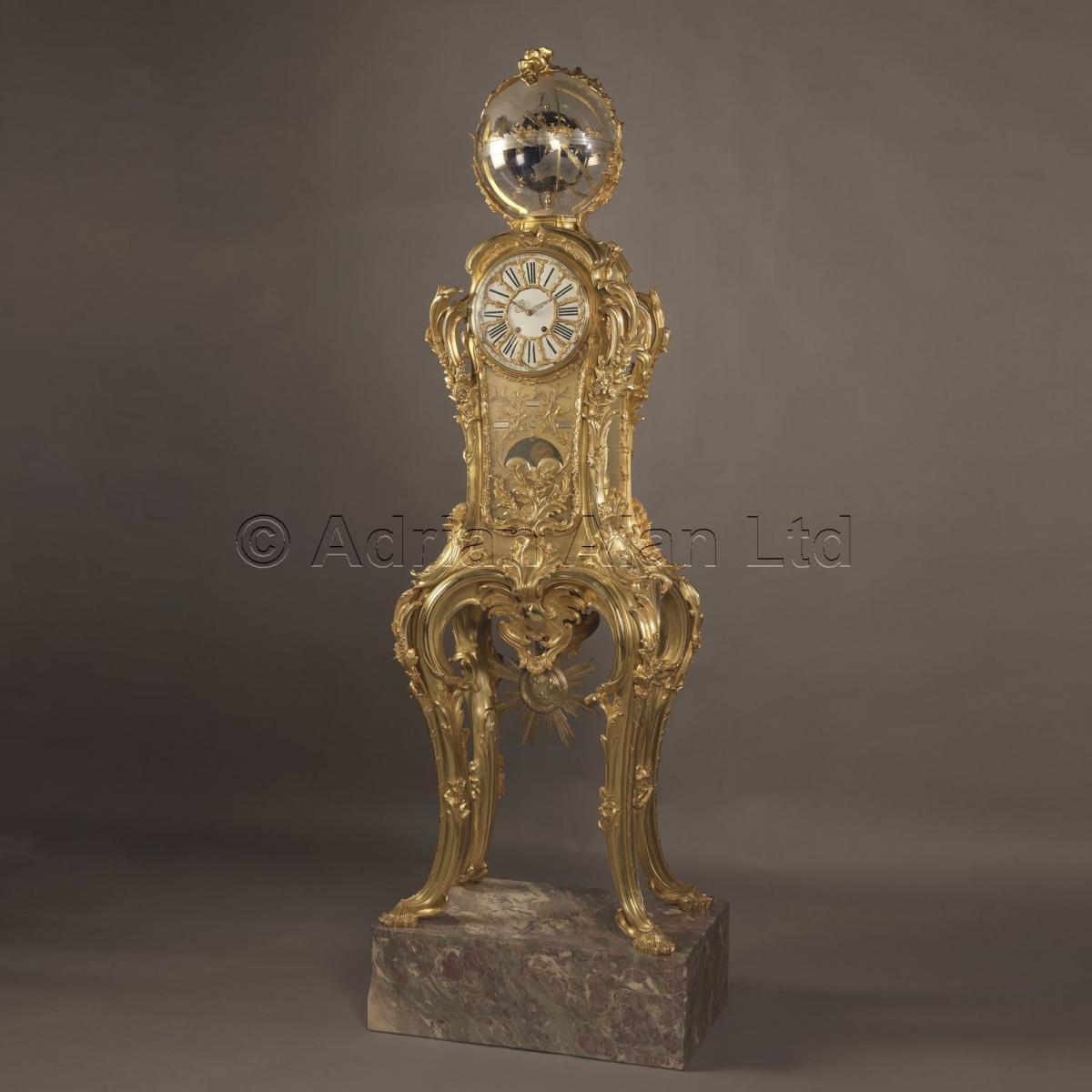Astronomical Regulator Clock ©AdrianAlanLtd