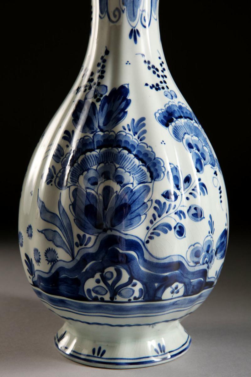 A 19th Century Single Delft Vase