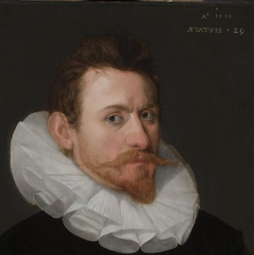 Portrait of a gentleman from the circle of Cornelis Ketel antique oil paintings