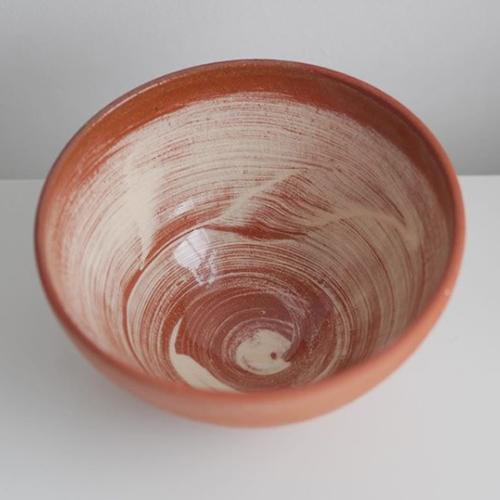 Glazed clay bowl by Billy Cave