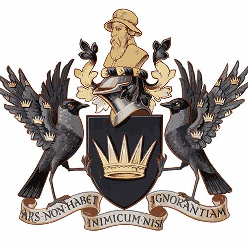 The BADA Armorial Crest