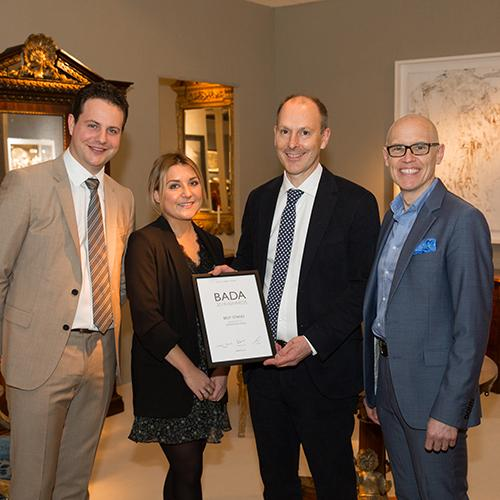 Godson & Coles winners of the BADA 2018 Best Stand Award