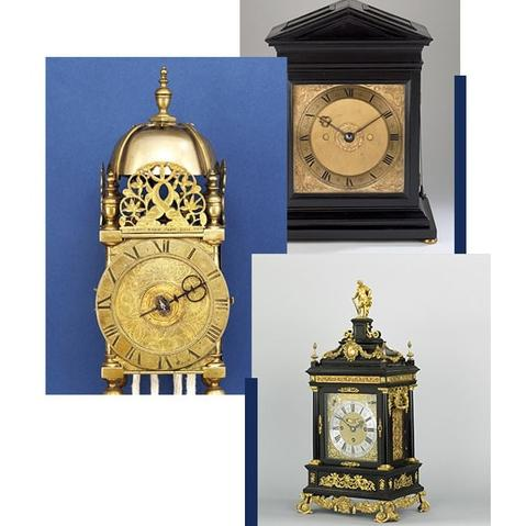 Early English Clock exhibition