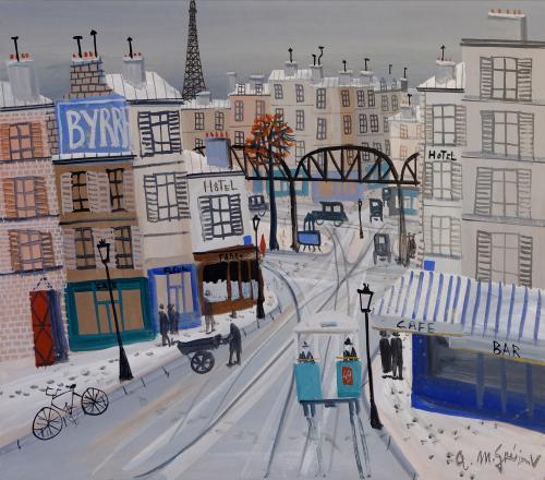 Armand-Marie Guerin, Paris sous la neige
