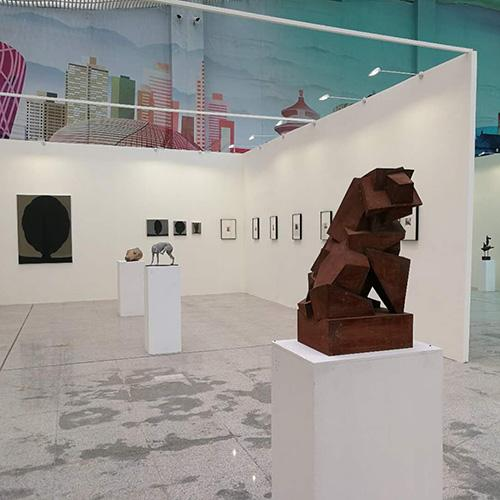 Exhibition of College Students' Art Works' in Shunyi, Beijing