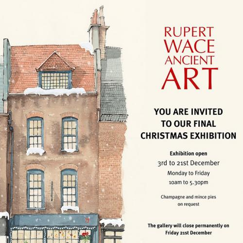 Rupert Wace Final Christmas Exhibition