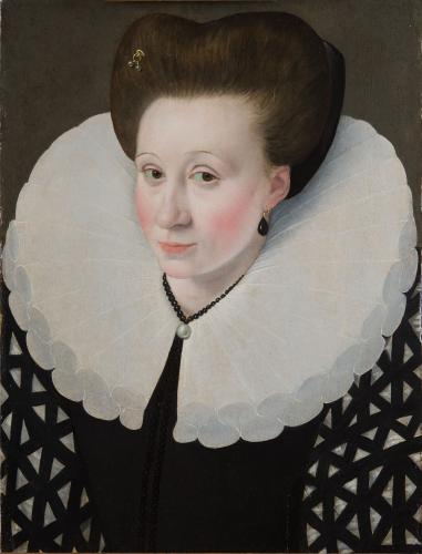 Portrait of a Noblewoman - Quesnel