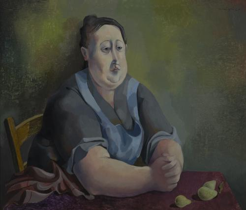 Portrait with Pears